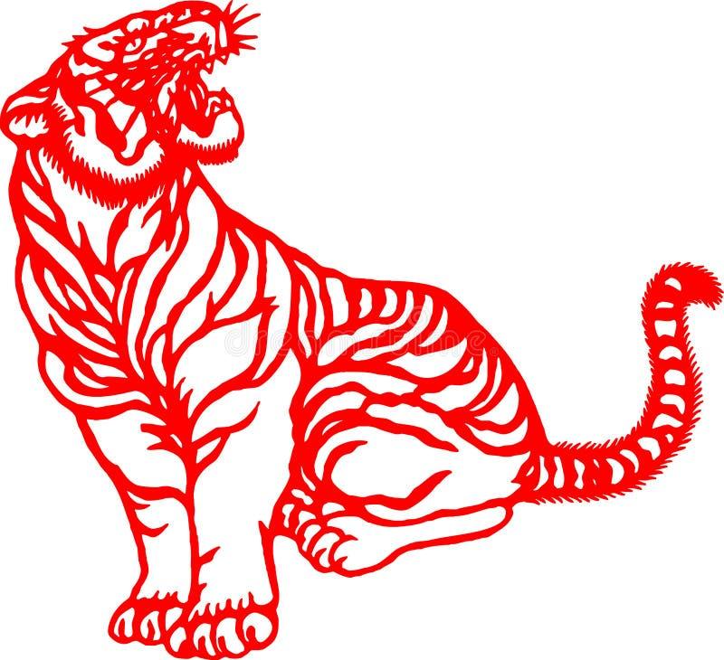 Chinese Zodiac of tiger year stock photo