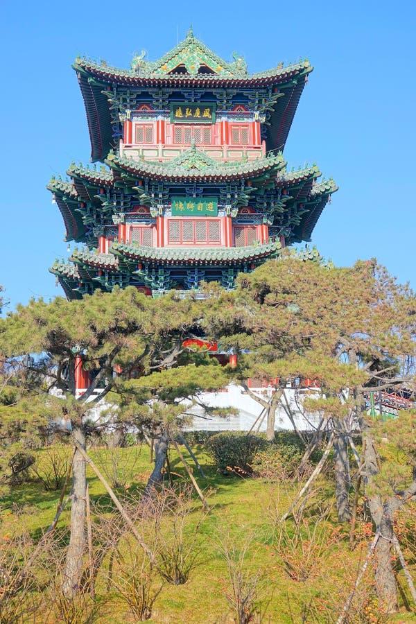 Chinese zolder royalty-vrije stock fotografie