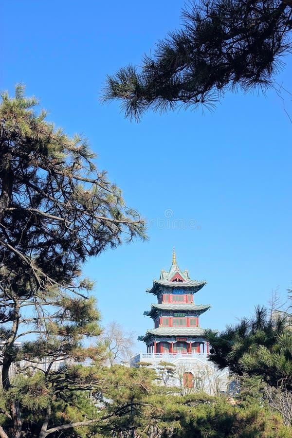 Chinese zolder royalty-vrije stock foto's