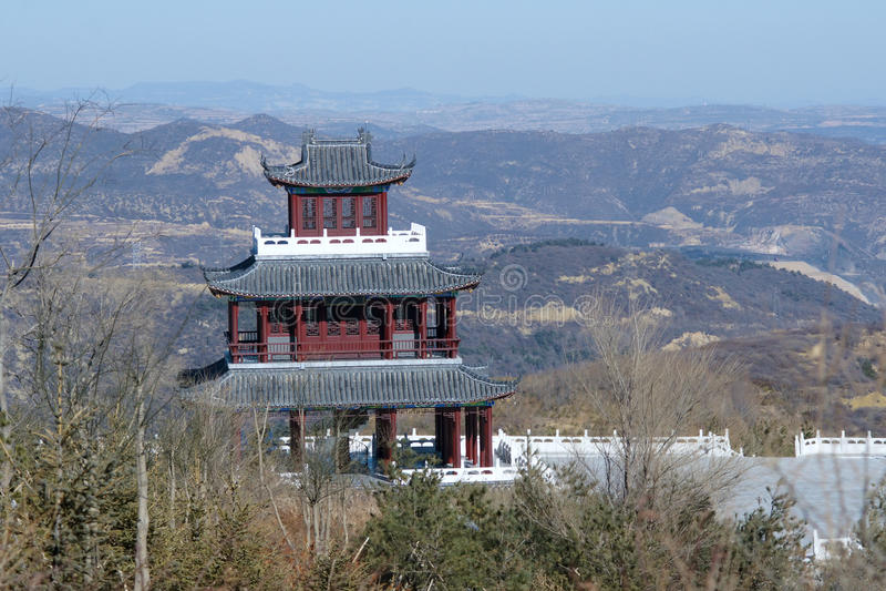 Chinese zolder royalty-vrije stock afbeelding