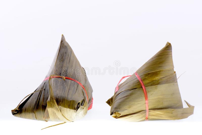 Chinese ZongZi voor Dragon Boat stock foto