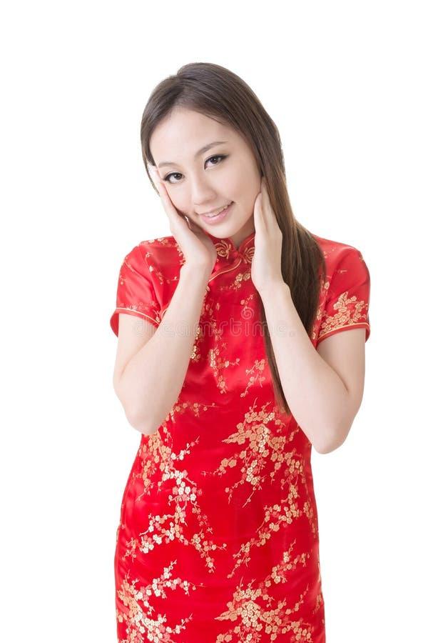 Chinesin lizenzfreie stockfotografie