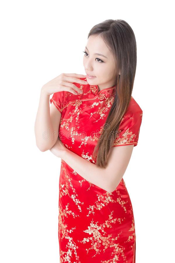 Chinesin stockfotografie