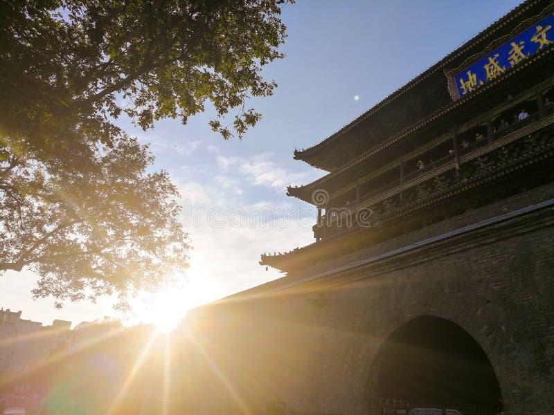 Chinesische alte Architektur, XI· stockbilder