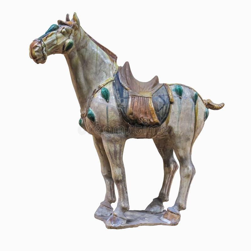 Chinesische alte Pferdefigürchen lizenzfreies stockfoto