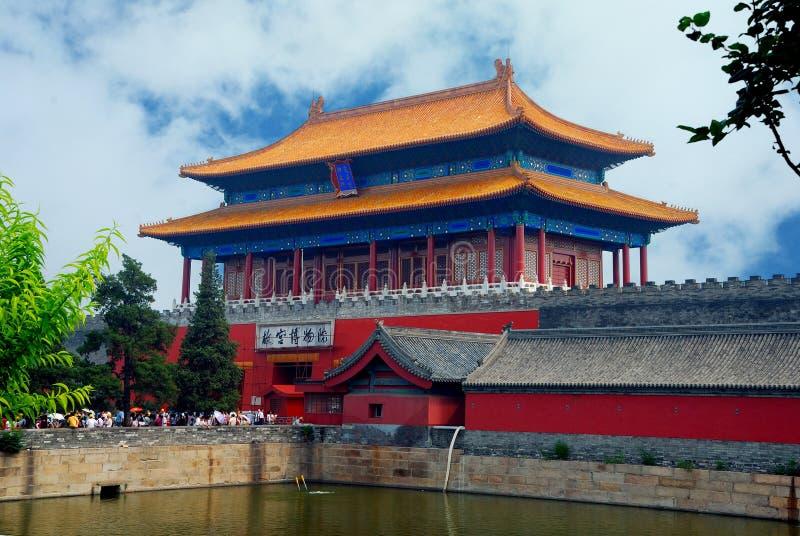 Chinesische Architektur lizenzfreies stockbild