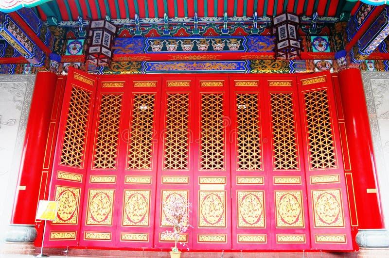 Chinesische Architektur Art lizenzfreies stockfoto