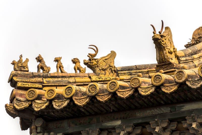 Chinesische Architekturdetails lizenzfreie stockfotografie