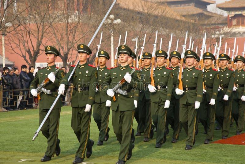 Chinesische Armee lizenzfreie stockbilder
