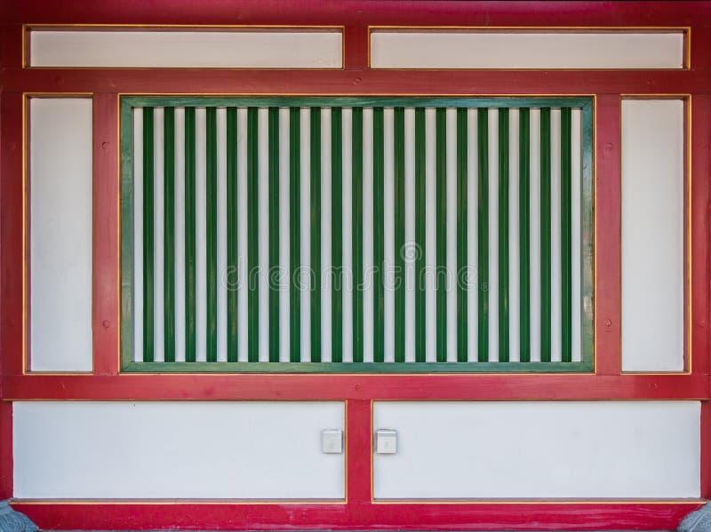 Chinesische Art der alten Wand lizenzfreie stockbilder
