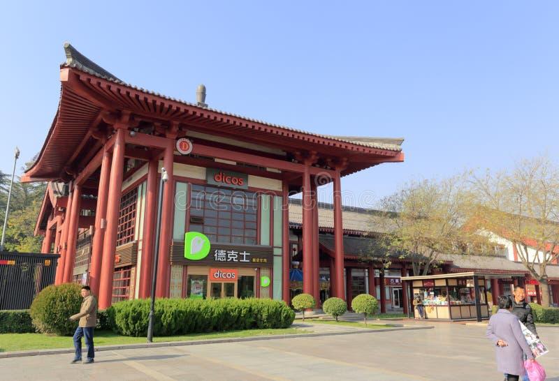 Chinesische Art dicos Restaurant lizenzfreies stockbild