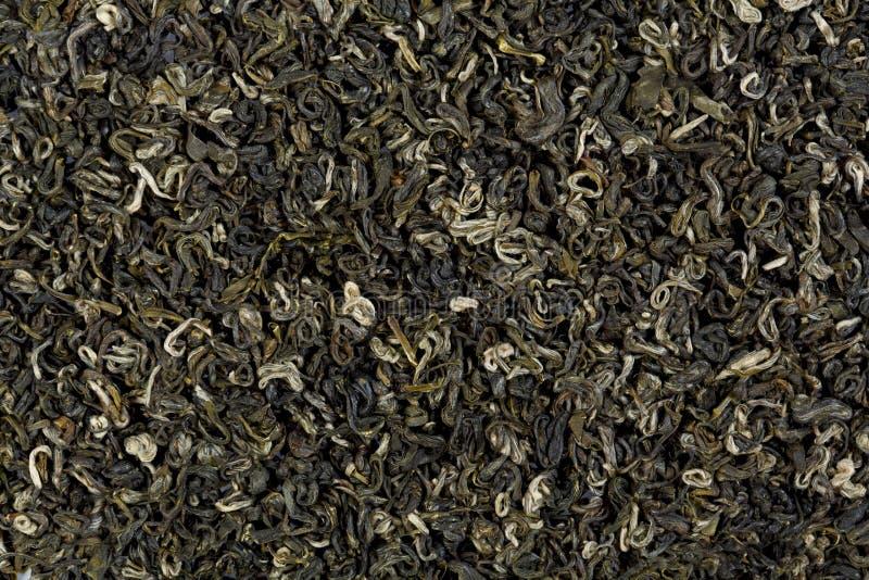 Chinesische biluochun Beschaffenheit grünen Tees Erstklassige Teebeschaffenheit lizenzfreies stockbild