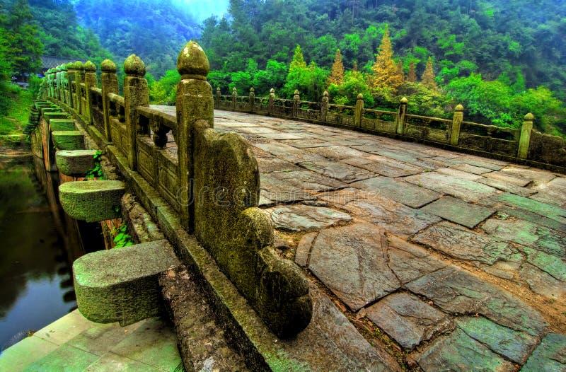 Chinesische Brücke stockfotografie