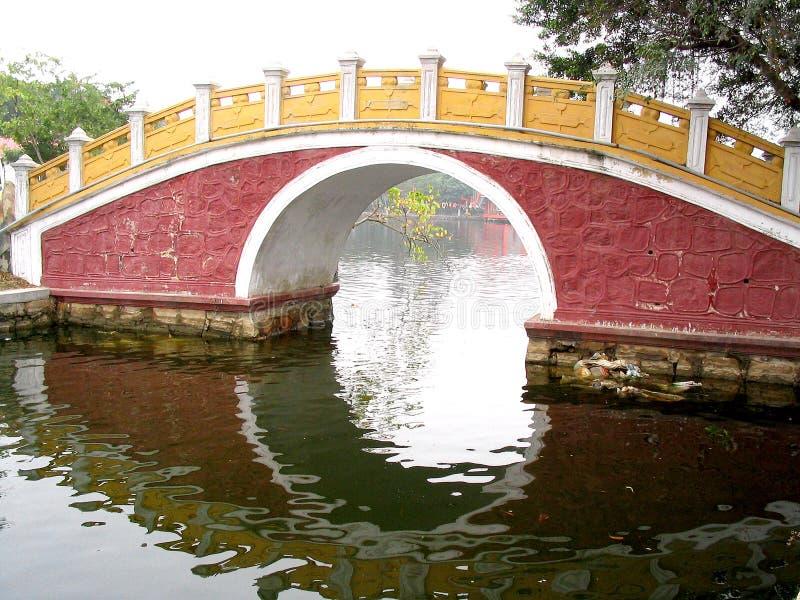 Chinesische Brücke stockbilder
