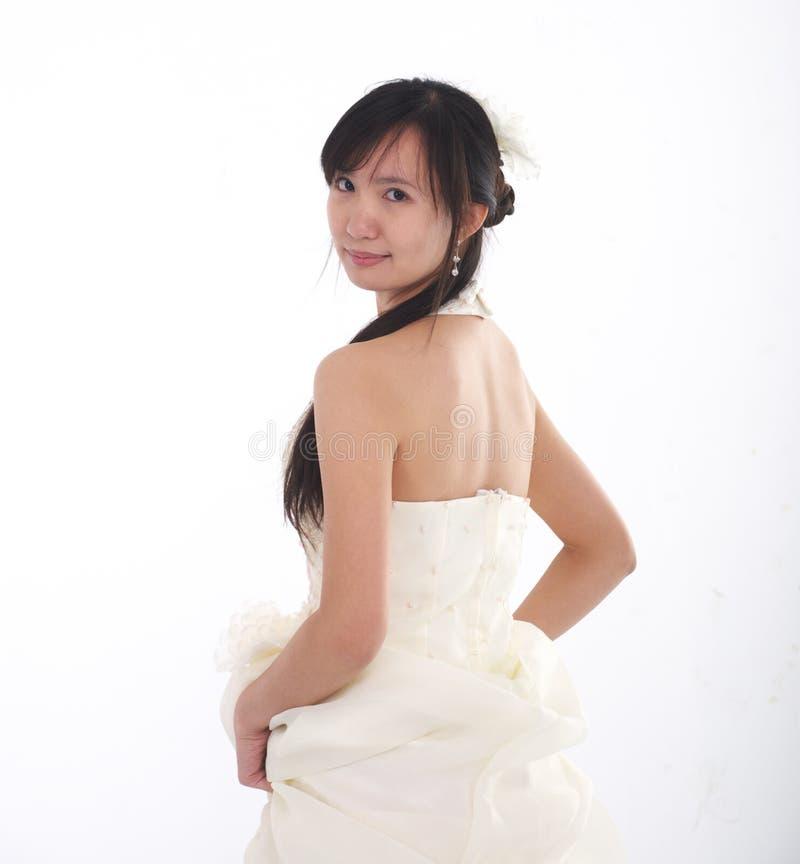Chinesische Braut stockbild