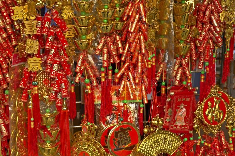 Chinesische Dekoration 2 des neuen Jahres lizenzfreie stockfotos