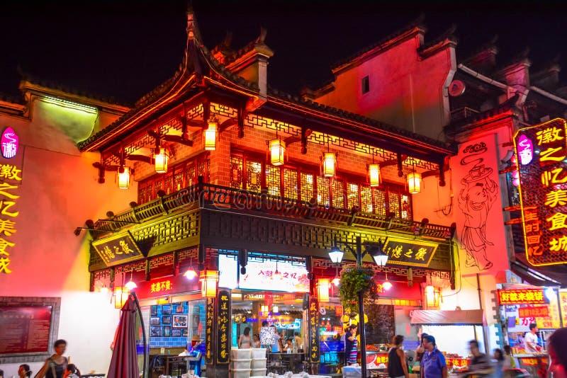 Chinesische errichtende Huizhou-Architektur stockfoto