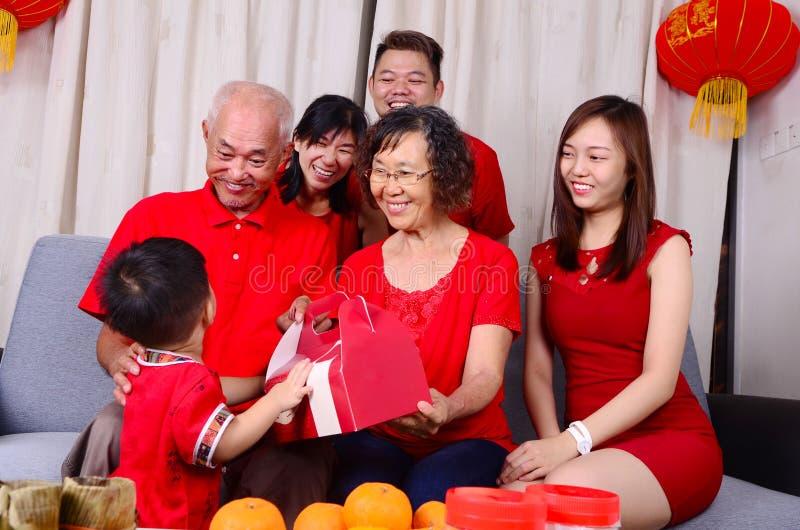 Chinesische Festivaljahreszeit des neuen Jahres lizenzfreies stockbild