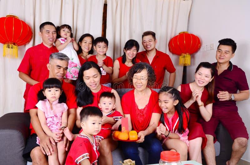 Chinesische Festivaljahreszeit des neuen Jahres lizenzfreies stockfoto
