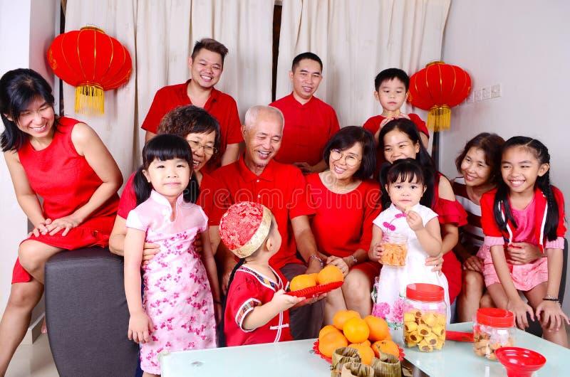 Chinesische Festivaljahreszeit des neuen Jahres stockbilder