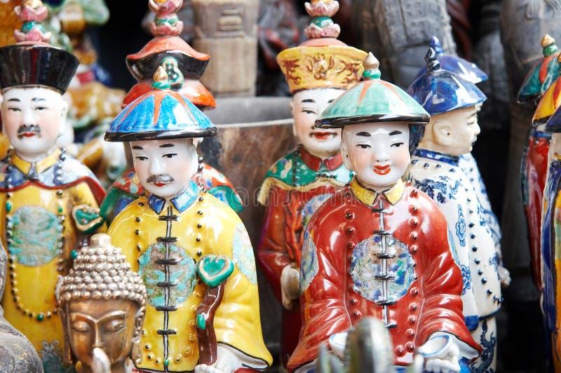 Chinesische Figürchen stockfoto