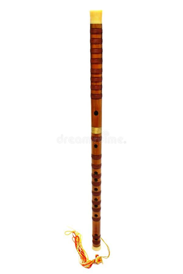 Chinesische Flöte, Dizi stockbilder