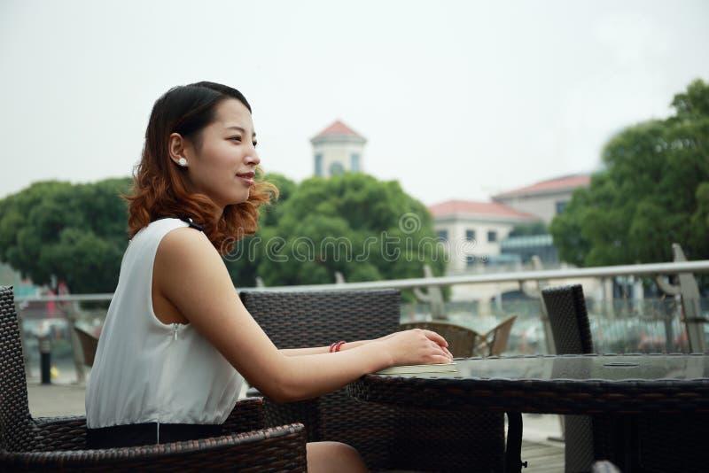 Chinesische Frau stockbilder