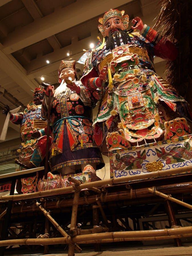 Chinesische Götter stockfotografie