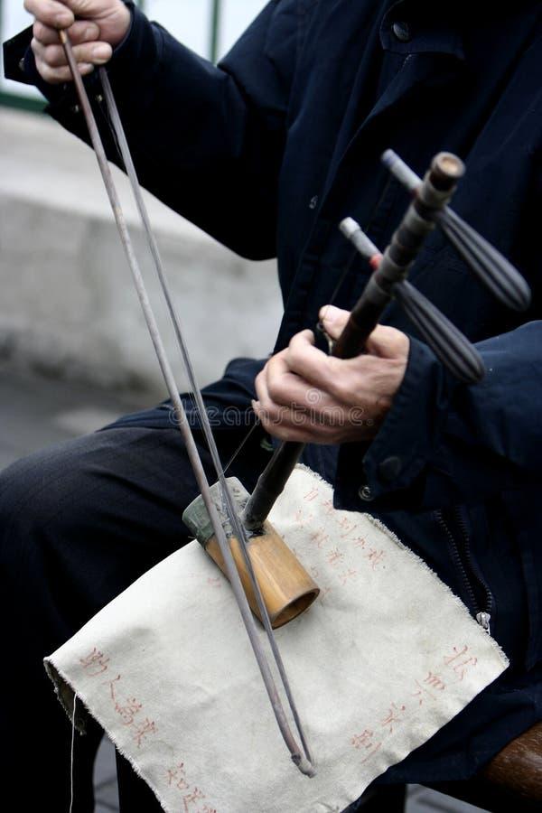 Chinesische Geige stockbilder