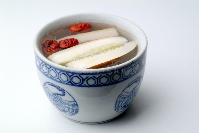 Chinesische gesunde Gemüsesuppe lizenzfreies stockfoto