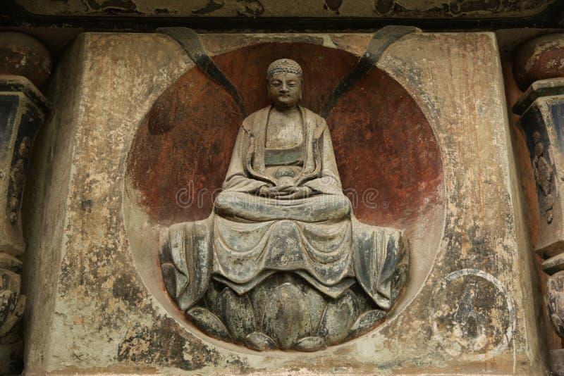 Chinesische historische Architektur, Weltkulturerbe stockfoto