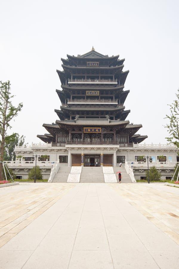 Chinesische historische Gebäude stockfotos