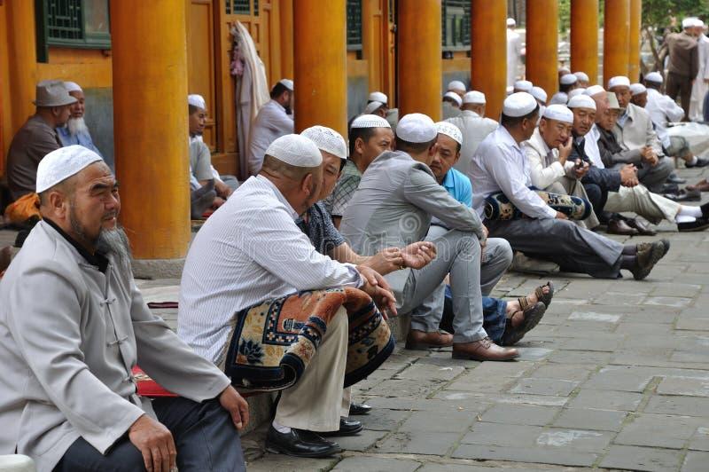 Chinesische hui Leute lizenzfreie stockbilder