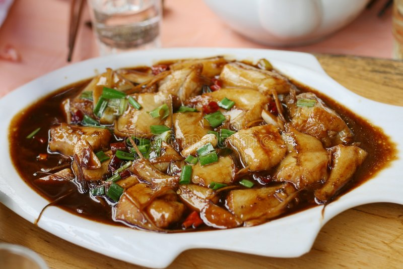 Chinesische Küche stockbild