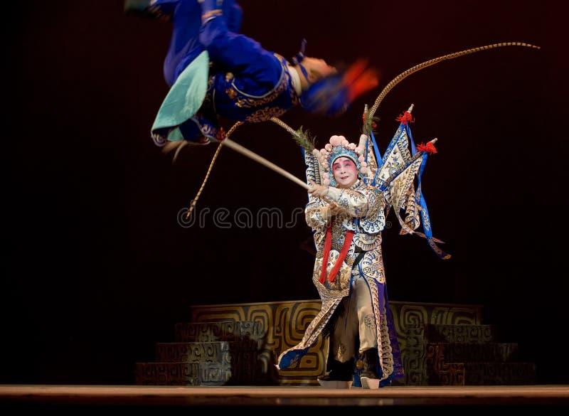 Chinesische Kunqu Oper Gongshunzidu lizenzfreie stockbilder
