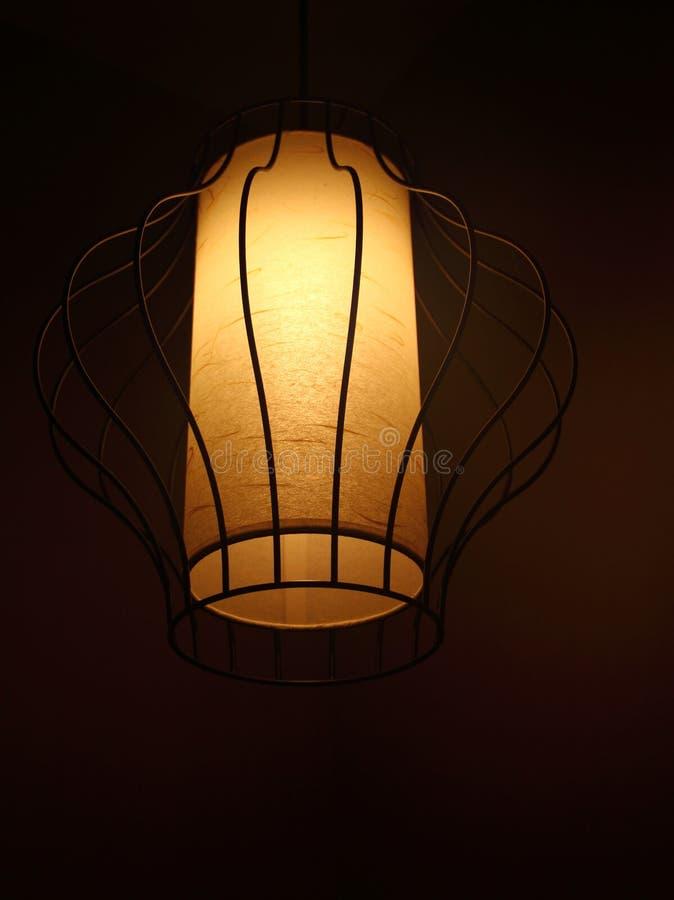 Chinesische Lampe lizenzfreie stockfotos