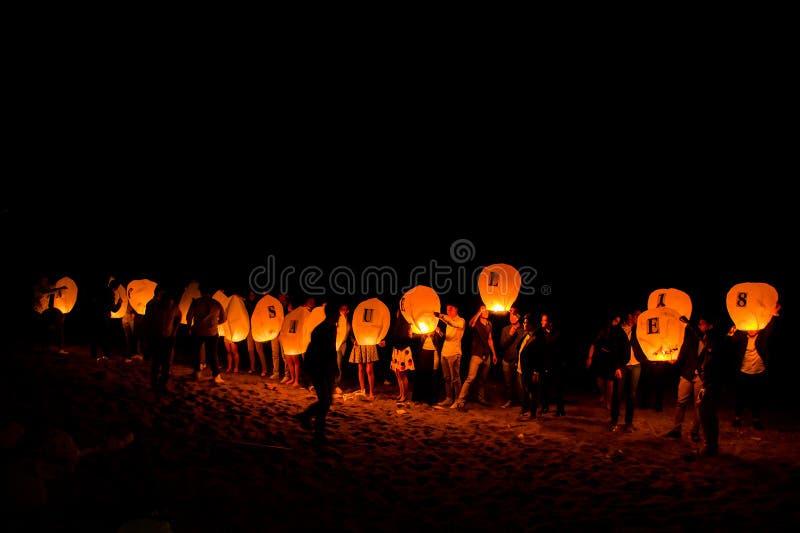 Chinesische Lampen stockfotos