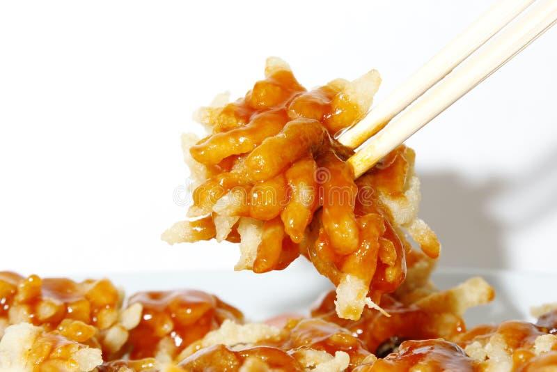 Chinesische Lebensmittel – – Chrysanthemen-Fischnahaufnahme lizenzfreie stockfotos