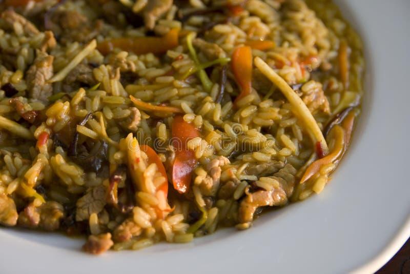 Chinesische Mahlzeit stockbild