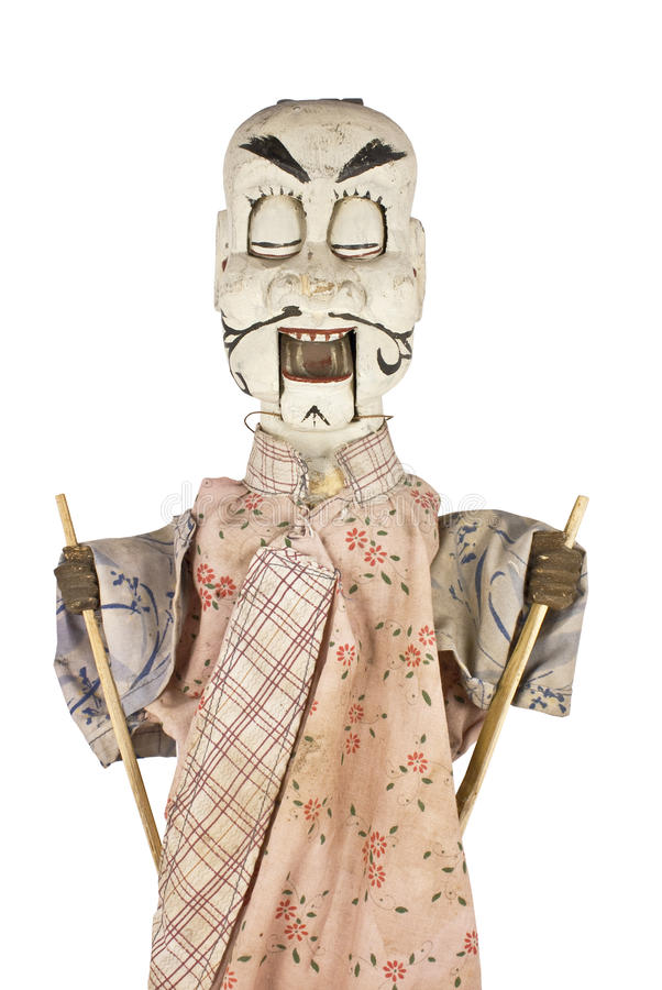 Chinesische Marionette lizenzfreie stockfotografie