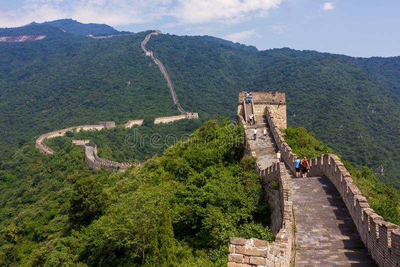Chinesische Mauer von China lizenzfreies stockbild