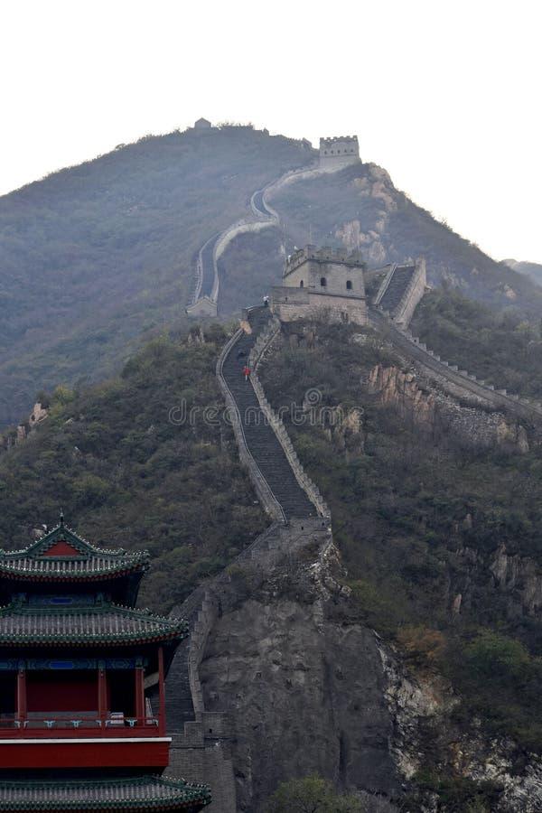 Chinesische Mauer von China lizenzfreie stockbilder