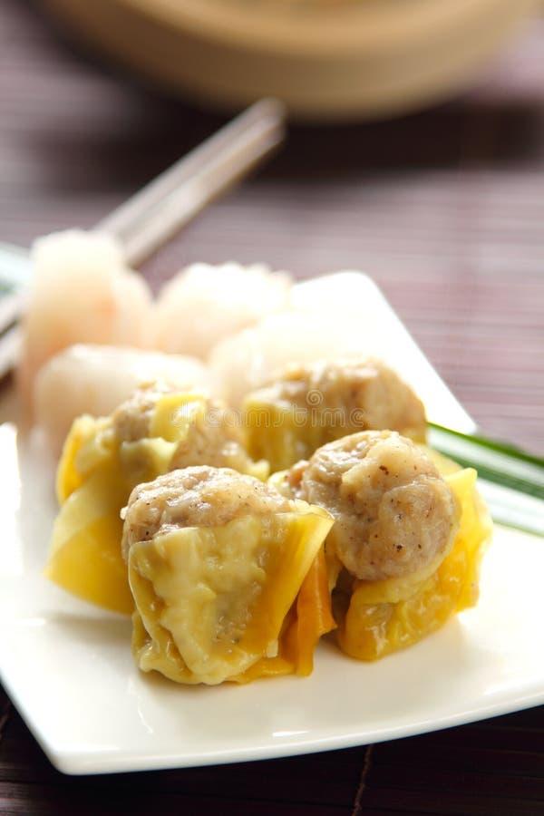 Chinesische Nahrung [Dimsum] lizenzfreies stockfoto