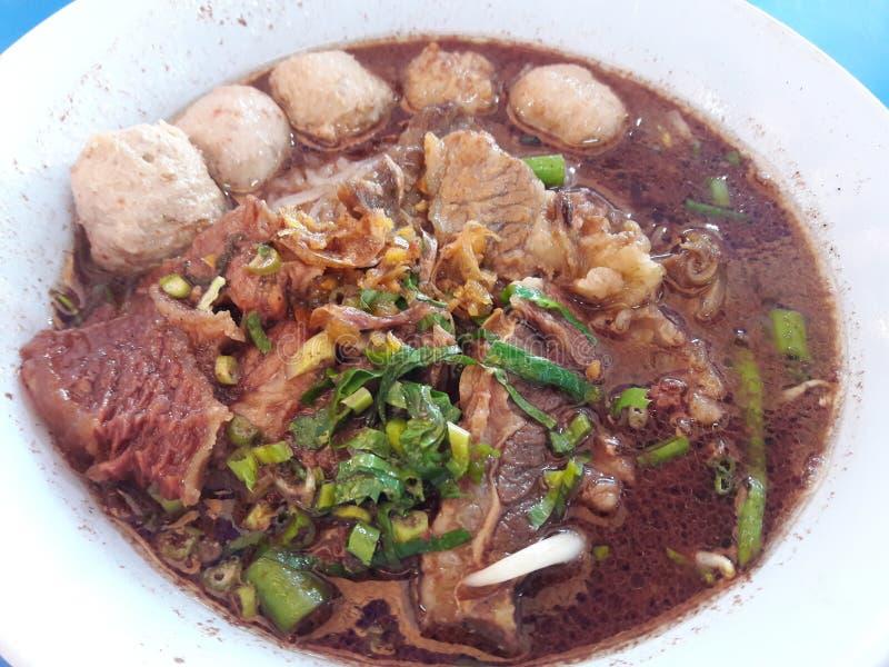 Chinesische Nahrung in einer Gaststätte stockfoto