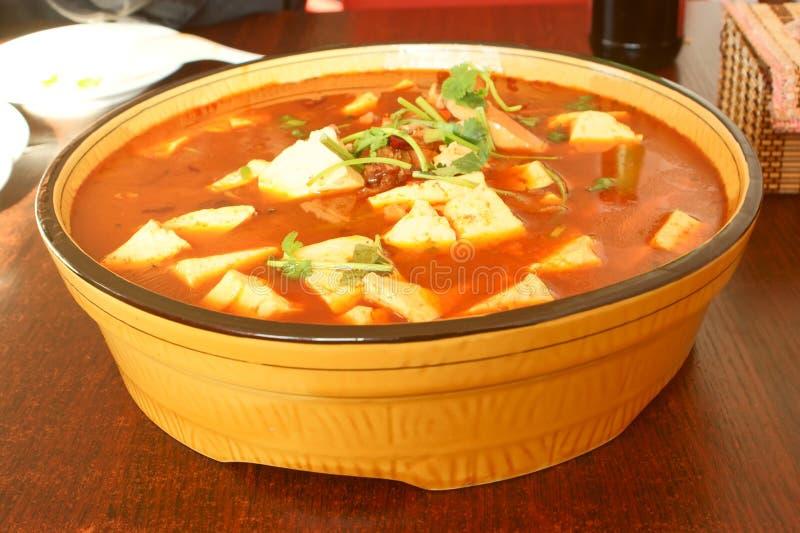 Chinesische Nahrung, Eintopfgerichte stockfotos