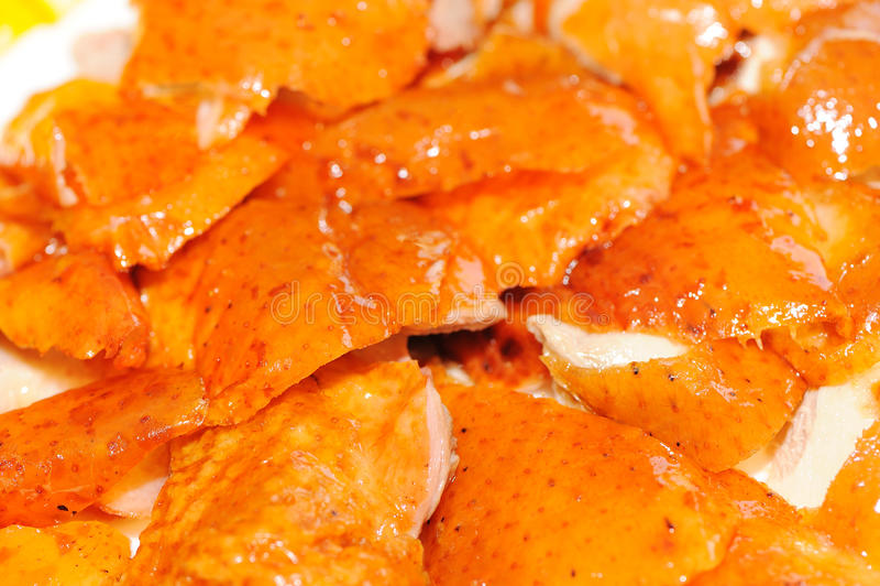 Chinesische Nahrungpeking-Braten-Ente stockfotos