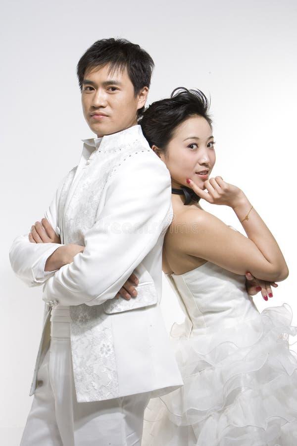 Chinesische Paare lizenzfreie stockfotografie