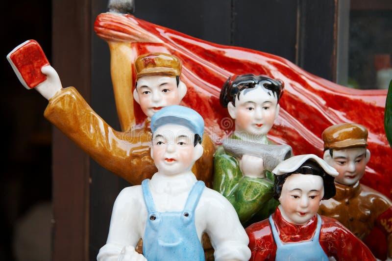 Chinesische Porzellanfigürchen lizenzfreies stockbild