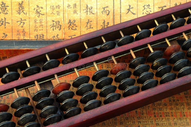 Chinesische Rechenmaschine lizenzfreies stockfoto