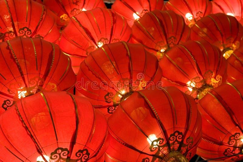 Chinesische rote Laterne stockfotografie